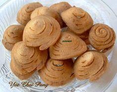 Yee Chai Pang / Spiral Ear Biscuit Recipe (The Waitakere Redneck's Kitchen)