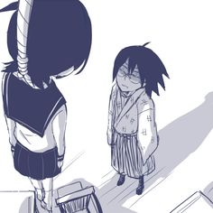 THIS IS NOT OKAY AT ALL. Tags: Anime, Fanart, Sayonara Zetsubou Sensei, Pixiv, Fuura Kafuka