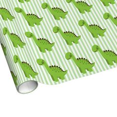 Wrap up your gifts with Dinosaur wrapping paper from Zazzle. Great for any occasion! Choose from thousands of designs or create your own! Black Unicorn, Create Your Own, Birthday Parties, Rolls, Wraps, Party Ideas, Cartoon, Green