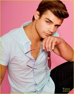 Garrett Clayton.   He's 22. I checked :P