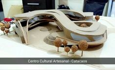 Artisan Cultural Center in Catacaos. Planner: The post Preliminary model. Artisan Cultural Center in Catacaos. Planner: appeared first on Architektur. Cultural Architecture, Concept Models Architecture, Conceptual Architecture, Organic Architecture, Futuristic Architecture, Architecture Plan, Residential Architecture, Museum Architecture, Sacred Architecture
