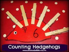 Sun Hats & Wellie Boots: Activities & Books for Kids Exploring Hibernation Number Activities, Counting Activities, Outdoor Activities For Kids, Autumn Activities, Book Activities, Kindergarten Counting, Reception Activities, Outdoor Learning, Reception Ideas