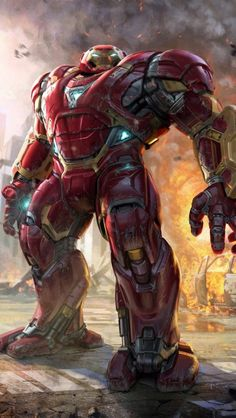Avengers: Infinity War - Hulkbuster Unused concept ( by Phil Saunders) & DC Marvel Comic Universe, Marvel Comics Art, Marvel Heroes, Mcu Marvel, Marvel Cinematic, New Iron Man, Iron Man Art, Iron Men, Iron Man Hd Wallpaper