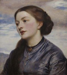 Frederick Leighton - Mrs John Hanson Walker (1867)