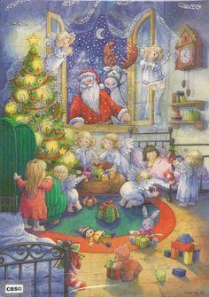 Engeltjes verstoppen kerstpakjes Adventskalender - 4692