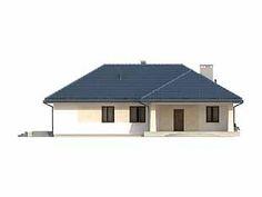 Granat 2 projekt domu - Jesteśmy AUTOREM - DOMY w Stylu Small House Design, House Plans, Outdoor Decor, Home Decor, Houses, Future House, Projects, Decoration Home, Room Decor