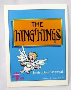 Vtg Nintendo Entertainment System King of Kings: The Early Years - NES Manual Retro Video Games, King Of Kings, Entertainment System, Manual, Nintendo, Entertaining, Ebay, Textbook, Funny