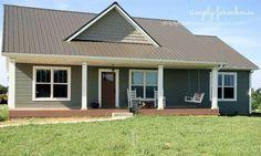 Simply Farmhouse Simply Farmhouse House Plan The house we built