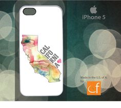 iPhone 5 Case California Love WHITE or BLACK Plastic by CaseFase, $20.00