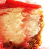 Easy Baked Cheesecake recipe