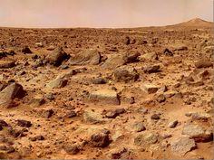 Onde está o ET em Marte!