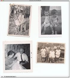 Scan old photos in batches, and Photoshop will crop, straighten, and separate them into individual files - HUGE time saver!