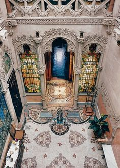 Interior of Casa Navàs - Reus, Spain