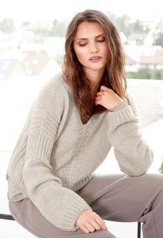 Lana Grossa V-PULLOVER Arioso - Design Special No. 4 - Modell 24 | FILATI.cc WebShop