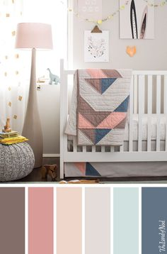 Searching for girls nursery ideas? The Land of Nod has tons of inspiration for every girls nursery room design. We all know that any baby nursery should be filled with personal and stylish details. That's why we've got a mega lineup of baby furniture and Nursery Themes, Nursery Room, Nursery Decor, Nursery Ideas, Room Decor, Room Themes, Nursery Design, Girl Nursery Colors, Baby Design