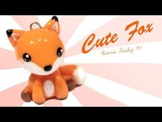 ▶ ◕‿◕Fox! Kawaii Tutorial in Polymer clay!