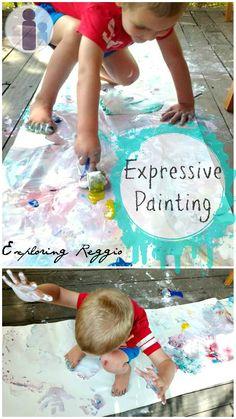 Expressive Painting | Exploring Reggio series