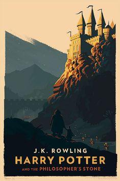 Novas capas vintage e minimalistas de Harry Potter encantam a todos (Garotas Geek)
