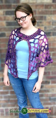 Free Crochet Patterns for Sweaters | AllFreeCrochet.com