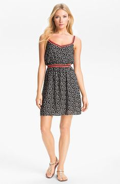 Max & Mia Print Dress available at #Nordstrom