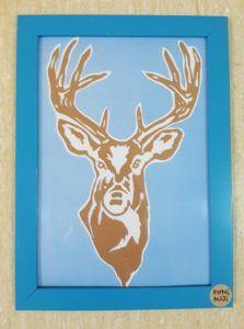 winter / zima / paper / kirigami / jeleń / deer Kirigami, Deer, Moose Art, Winter, Animals, Winter Time, Animales, Animaux, Animal