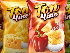 TOP CHIPS on Behance