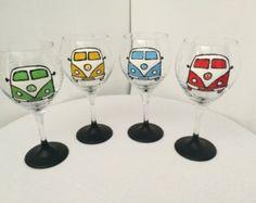 Kombi Painted Glasses