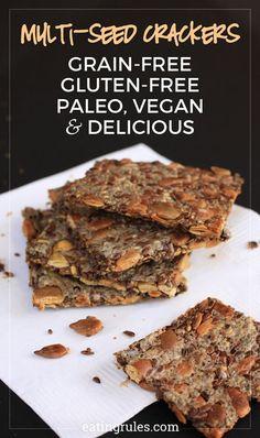 Multi Seed Vegan Crackers