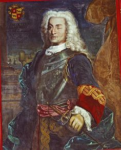Portrait of Admiral Blas de Lezo y Olavarrieta, artist unknown, c. by 1741 Der Richter, La Reproduction, Spanish Armada, Seven Years' War, 18th Century Clothing, Immaculate Conception, Conquistador, Maleficent, Coat Of Arms