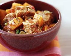 Slow Cooked Pork and Sweet Potato Stew