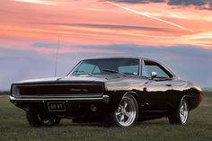 1969 Dodge Charger. Another classic car. The new dodge charger is based on this one #dodgeclassiccars