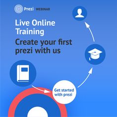 Join our weekly online training sessions where we give you expert help on how to get started with Prezi. Register now and share it with your friends!
