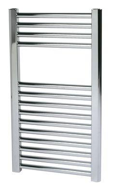 Kudox Flat Towel Warmer Chrome (H)700 (W)400mm   Departments   DIY at B&Q Towel Heater, Towel Warmer, Traditional Bathroom, Bathroom Interior, Blinds, Chrome, Flat, Home Decor, Jalousies