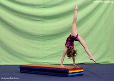 Front handspring drills and ideas-very nice future station Gymnastics Floor, Gymnastics Tricks, Tumbling Gymnastics, Gymnastics Skills, Gymnastics Coaching, Gymnastics Posters, Gymnastics Training, Gymnastics Mats, Gymnastics Workout