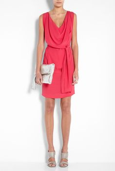 Vivienne Westwood Anglomania Pink Fulfillment Dress
