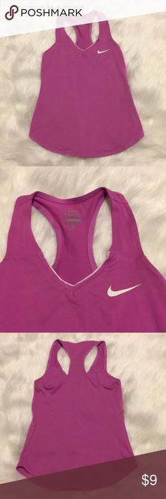 f1ce541311 Nike dry fit tank top Women s size xs light purple in color fits to body  super