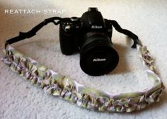 A Small Snippet: Ruffled Camera Strap Cover