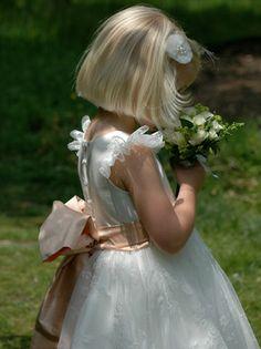 Flowergirl pose. Grace   Nicki Macfarlane