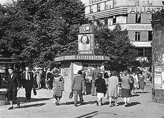 Berlin 1950 Kurfuerstendamm Ecke Uhlandstrasse
