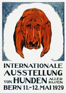 Vintage  International Dog Show Posters