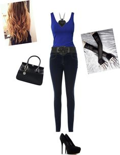 """SadieE"" by orangegenna21 ❤ liked on Polyvore"