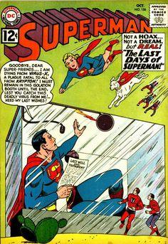 Superman - The Three Tough Teen-Agers! / The Man Who Trained Superman! Old Superman, Superman Story, Superman Comic, Superman Family, Batman, Superman Artwork, Superman Logo, Dc Comics, Action Comics