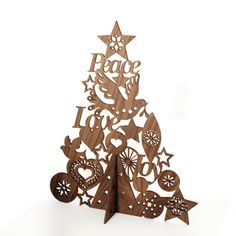 lovely lasercut tree