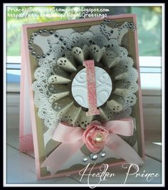 Baby's 1st Birthday by Princessheather - Cards and Paper Crafts at Splitcoaststampers