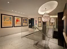 Modern Entryway and Hallway photo by Pepe Calderin Design