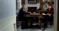 Samantha Morton, Michael Shannon | The Harvest (2013), directed by John McNaughton; cinematography by Rachel Morrison | #screencaps, horror movie, film