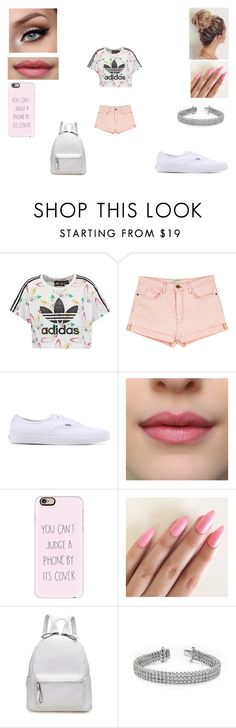 """""""Untitled #147"""" by tasnimkhan-258 on Polyvore featuring adidas Originals, Current/Elliott, Vans and Casetify"""