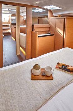 Sun Odyssey 410 │ Sun Odyssey of │ Boat Sailboat Jeanneau Owner Cabin 12363 Guest Cabin, Deck Plans, Sailboats, Architecture Design, Sailing, Layout, Sun, Interior Design, Home