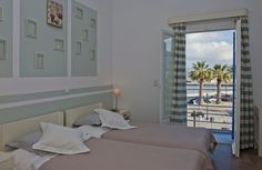 Oasis Hotel in Paros offers you double rooms with all comforts and unlimited sea views for unforgettable holidays. Double room Dimitrios with sea view. Commercial Center, Double Room, Just Relax, Oasis, Paros Greece, Sea, Furniture, Home Decor