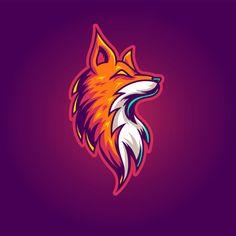 Discover thousands of Premium vectors available in AI and EPS formats Renard Logo, Vector Logos, Vector Game, Gaming Logo, Fox Sport, Game Logo Design, Esports Logo, Professional Logo Design, Fox Logo